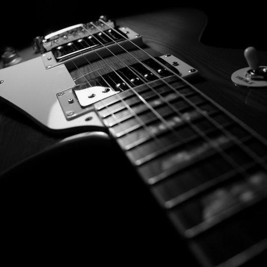 Cool Guitar Black Android SmartPhone Wallpaper