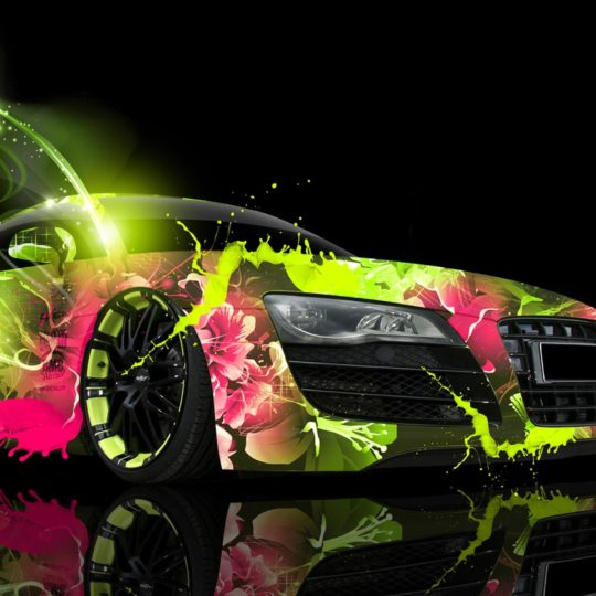 Vehicle car paint Android SmartPhone Wallpaper