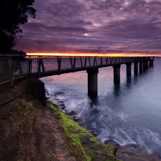 Landscape Bridge Android SmartPhone Wallpaper