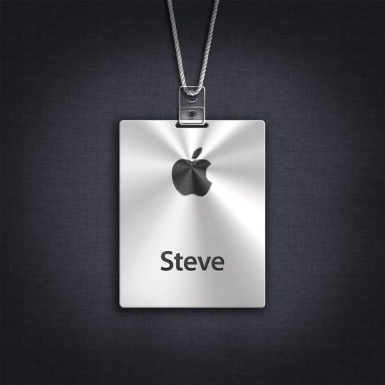 Apple silver tag Android SmartPhone Wallpaper