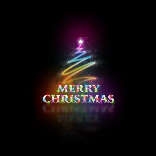 Christmas text Android SmartPhone Wallpaper