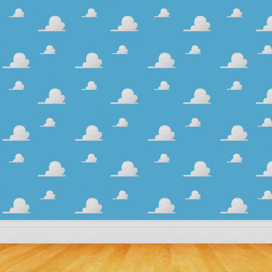 Sky blue pattern Android SmartPhone Wallpaper
