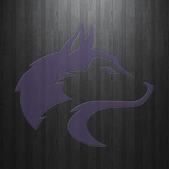 Logo black dog Android SmartPhone Wallpaper