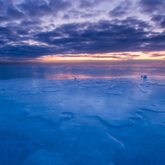 Landscape ice Android SmartPhone Wallpaper