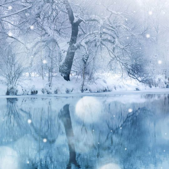 Landscape snow Android SmartPhone Wallpaper