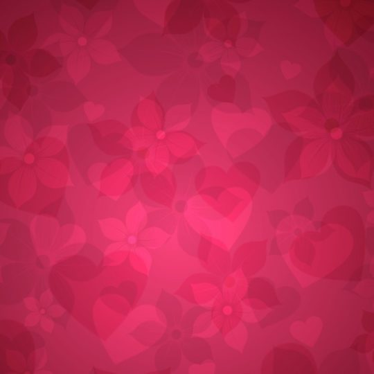 Heart pattern red Android SmartPhone Wallpaper