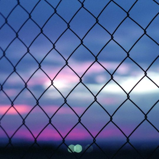 Landscape fence Android SmartPhone Wallpaper
