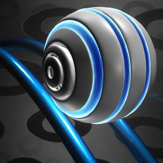 Cool blue black Android SmartPhone Wallpaper