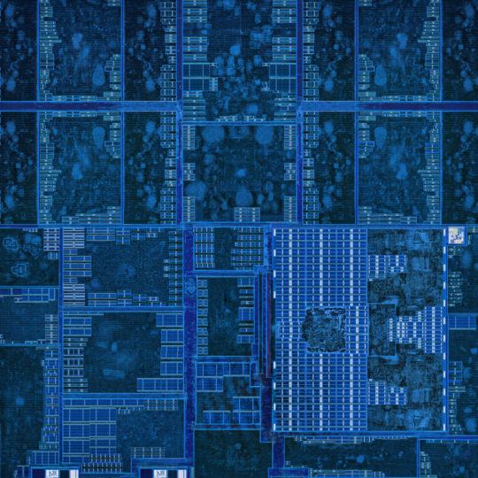 Cool blue Android SmartPhone Wallpaper