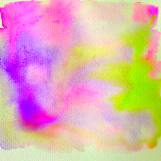 Pattern paint purple yellow green Android SmartPhone Wallpaper