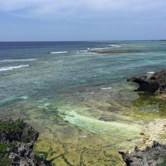 Landscape sea tropical blue sky Android SmartPhone Wallpaper