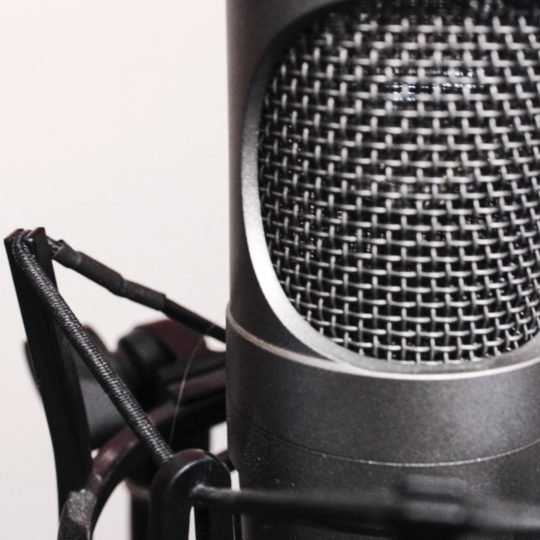 Condenser microphone gray Android SmartPhone Wallpaper
