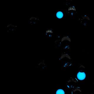 Pattern Black Blue