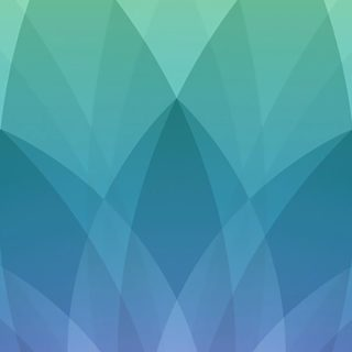 Apple spring event purple blue green pattern