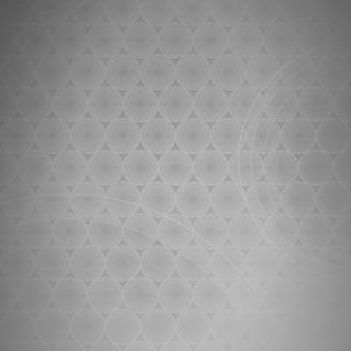 Dot pattern gradation circle Gray