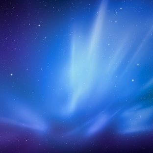 Space blue Apple Watch photo face Wallpaper