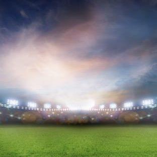 Landscape Stadium green Apple Watch photo face Wallpaper