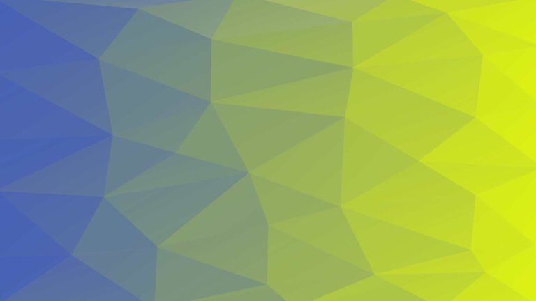 Pattern polygon blue green Desktop PC / Mac Wallpaper