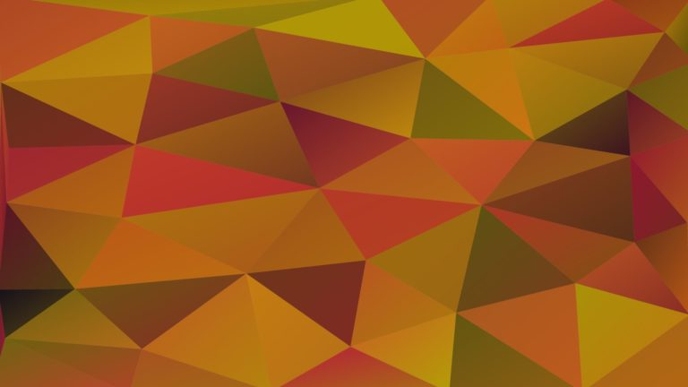Pattern polygon Brown Green Desktop PC / Mac Wallpaper