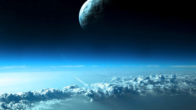 Space Earth stratosphere Desktop PC / Mac Wallpaper