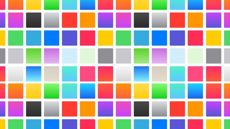 Pattern square colorful Desktop PC / Mac Wallpaper