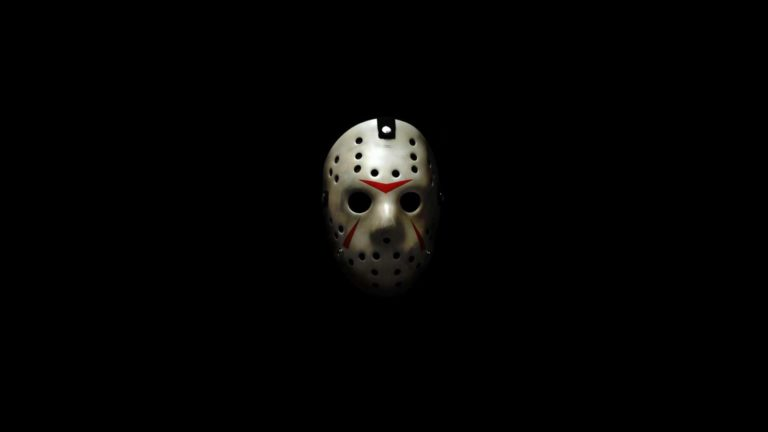 Illustrations Jason mask black Desktop PC / Mac Wallpaper