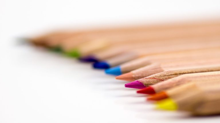 Colored pencil colorful Desktop PC / Mac Wallpaper