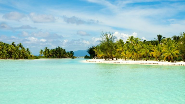 Landscape sea tropical Island Desktop PC / Mac Wallpaper