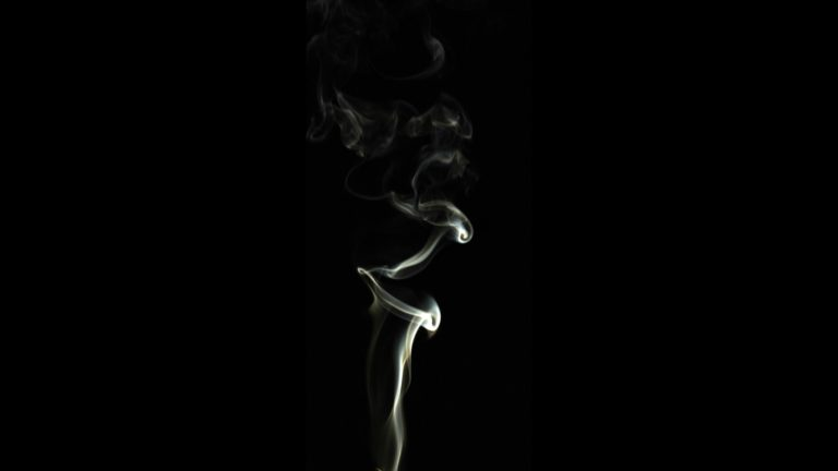 Smoke black Desktop PC / Mac Wallpaper