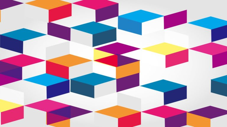 Pattern 3D ash colorful Desktop PC / Mac Wallpaper