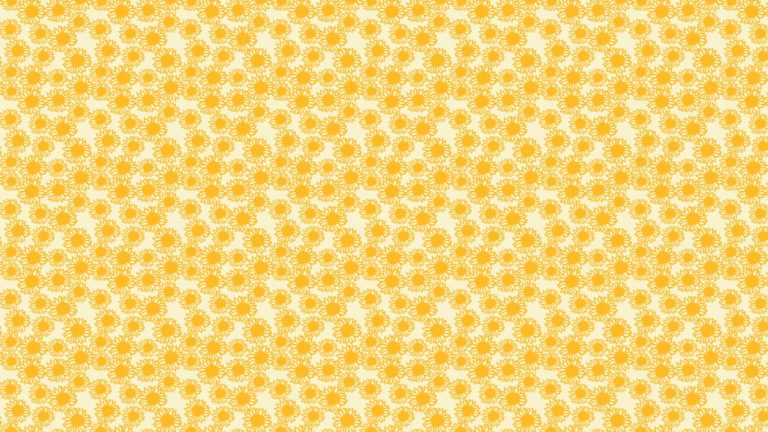 Pattern sunflower yellow women-friendly Desktop PC / Mac Wallpaper