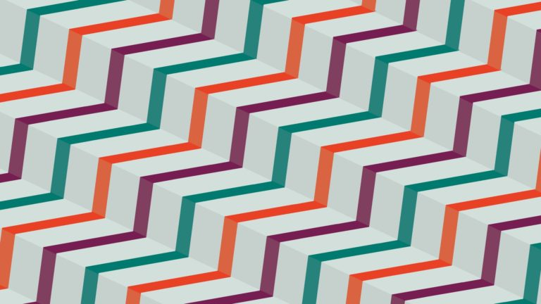 Pattern stairs stripe purple red green Desktop PC / Mac Wallpaper