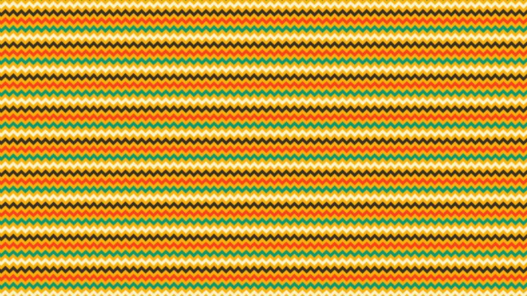 Pattern jagged border red-orange green Desktop PC / Mac Wallpaper