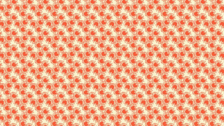 Pattern sunflower red women-friendly Desktop PC / Mac Wallpaper