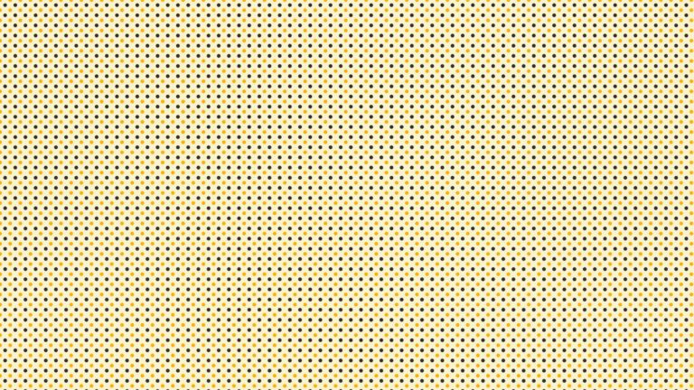 Pattern polka dot yellow black Desktop PC / Mac Wallpaper
