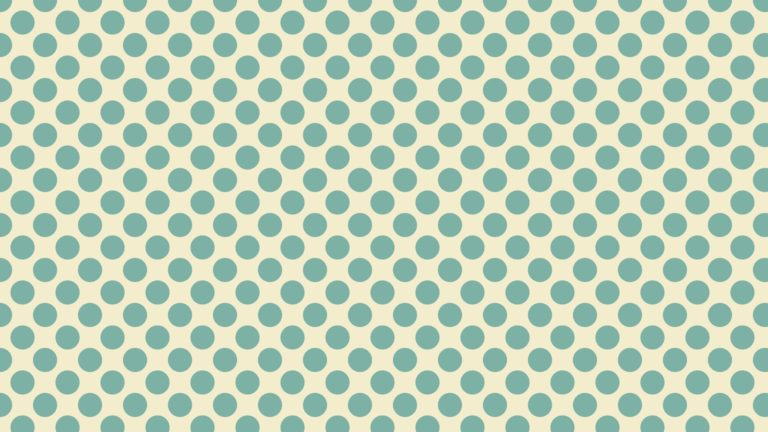 Pattern polka dot green and yellow Desktop PC / Mac Wallpaper