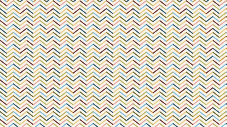 Pattern colorful border jagged Desktop PC / Mac Wallpaper