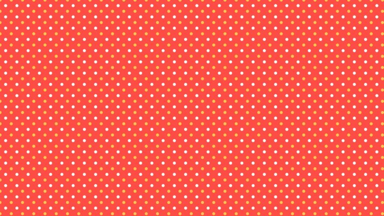 Pattern polka dot red women-friendly Desktop PC / Mac Wallpaper