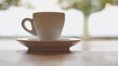 Interior coffee cup