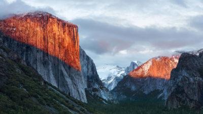 Mac OSX ElCapitan landscape mountain