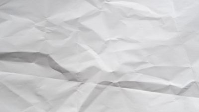 Cool texture paper wrinkled white