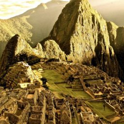 Landscape Machu Picchu iPad / Air / mini / Pro Wallpaper