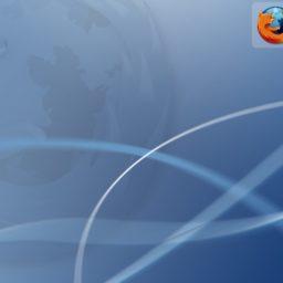 Firefox logo iPad / Air / mini / Pro Wallpaper