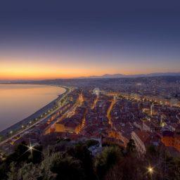 Urban landscape iPad / Air / mini / Pro Wallpaper