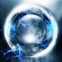 Cool blue sphere iPad / Air / mini / Pro Wallpaper