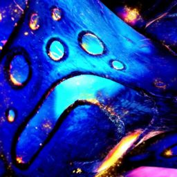 Cool blue flame iPad / Air / mini / Pro Wallpaper