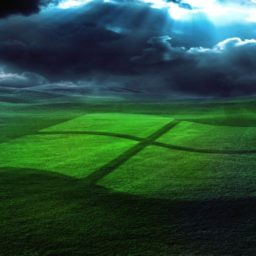 Landscape logo Windows iPad / Air / mini / Pro Wallpaper