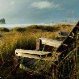 Landscape chair iPad / Air / mini / Pro Wallpaper