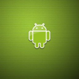 Android logo green iPad / Air / mini / Pro Wallpaper