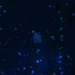 Apple blue iPad / Air / mini / Pro Wallpaper